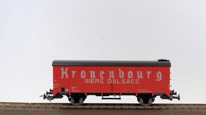 wagon transport de bi re kronenbourg sncf ep iii piko pik 54546 maurienne. Black Bedroom Furniture Sets. Home Design Ideas