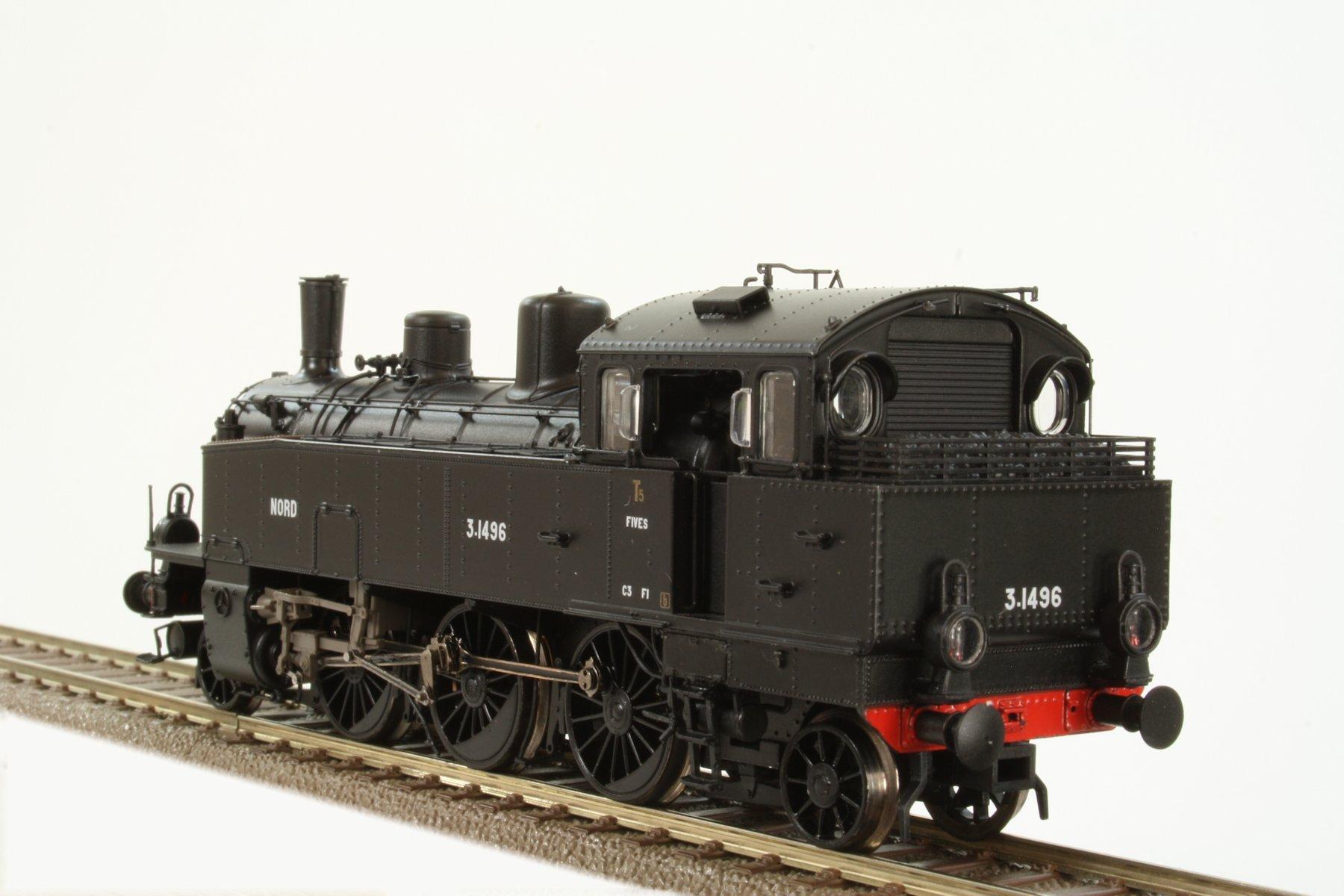 locomotive vapeur 131 t5 livr e nord d p t de fives poque ii digital sound brawa bra. Black Bedroom Furniture Sets. Home Design Ideas