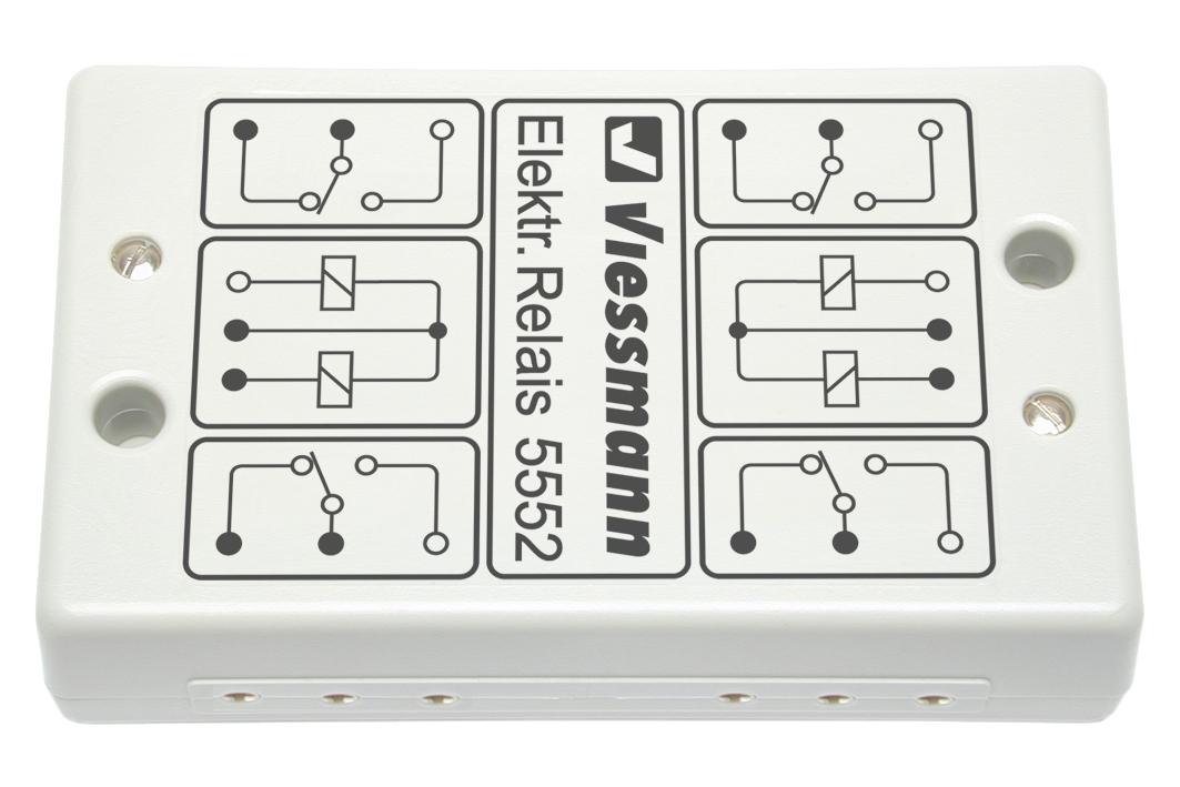 relais universel double viessmann vie 5552 maurienne mod lisme ferroviaire. Black Bedroom Furniture Sets. Home Design Ideas